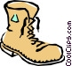 Boot Vector Clipart graphic