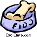 Dog's bone Vector Clip Art graphic