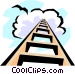 Stairway to heaven Vector Clip Art graphic