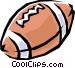 Football Vector Clip Art image