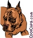 Bulldog Vector Clipart picture