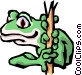 Tree frog Vector Clipart illustration