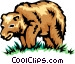 Brown bear Vector Clipart image