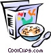 Breakfast cereal Vector Clipart graphic