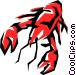 Lobsters Vector Clipart picture