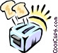 Toaster Vector Clipart image