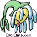Parched flower Vector Clipart graphic