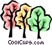 Autumn leaves Vector Clip Art image