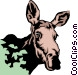 Moose Vector Clipart illustration