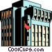 Office building Vector Clip Art image