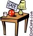 Garage sale Vector Clipart picture