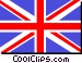 United Kingdom flag Vector Clip Art image