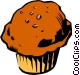 Muffin Vector Clipart picture