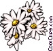 Daisies Vector Clipart graphic