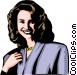 Model Vector Clipart illustration