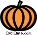 Pumpkins Vector Clipart graphic
