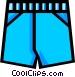 Underwear Vector Clipart illustration