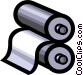 Rollers Vector Clip Art image
