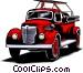 Fire truck Vector Clip Art image