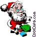 Santa Claus Vector Clipart picture