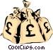 Moneybags Vector Clip Art image