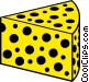 Cheese Vector Clipart image