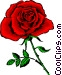 Red Rose Vector Clip Art picture