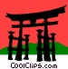 Japanese Vector Clipart graphic