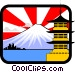 Japanese Vector Clipart illustration