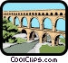 Viaduct Vector Clipart graphic