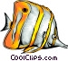Tropical fish Vector Clipart graphic