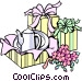 Shower gifts Vector Clipart picture