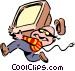 Thief Vector Clip Art image