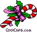 Christmas candy cane Vector Clip Art graphic