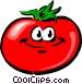 Cartoon tomato Vector Clip Art picture