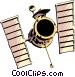Telescope Vector Clip Art graphic