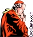 Pope John Paul II Vector Clip Art picture