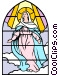 Blessed Assumption Vector Clip Art image