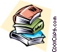School books Vector Clipart picture
