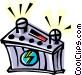12 volt battery Vector Clipart picture