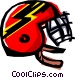 Coolbat helmet Vector Clipart graphic
