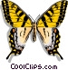 Butterfly Vector Clipart graphic