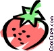 Strawberries Vector Clipart graphic