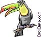 Toucans Vector Clipart illustration
