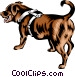 Newfoundland dog Vector Clip Art picture