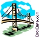 Bridge Vector Clipart graphic