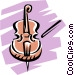 Violin Vector Clipart illustration