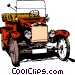 Old car Vector Clip Art picture