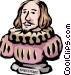 Shakespeare Vector Clipart image