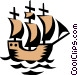 Ship symbol Vector Clipart picture